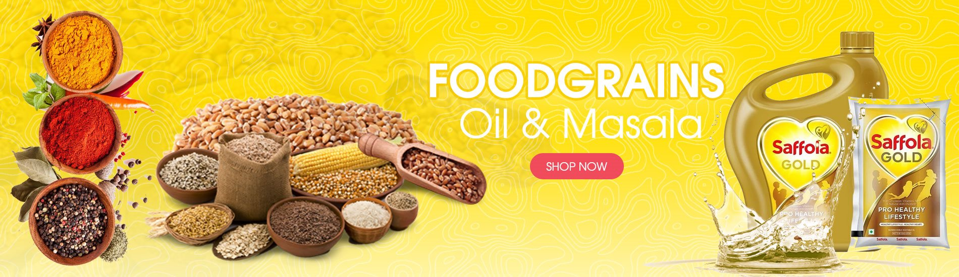 Foodgrains, Oil & Masala