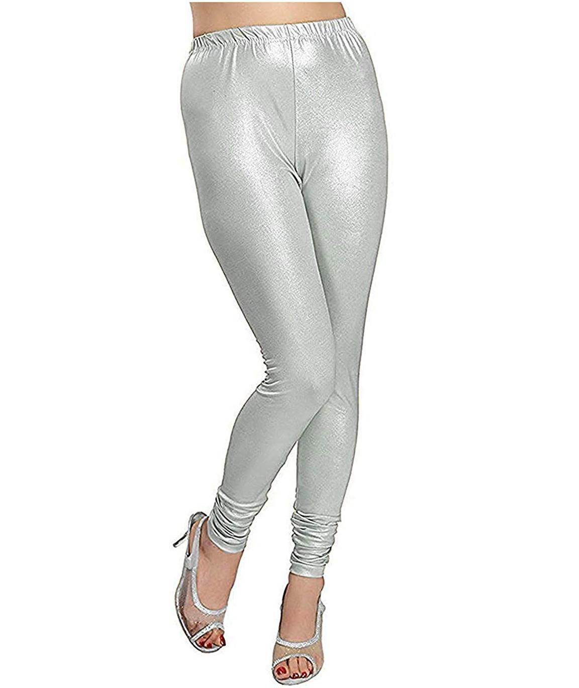 Swag Womens Silver shimmer leggings