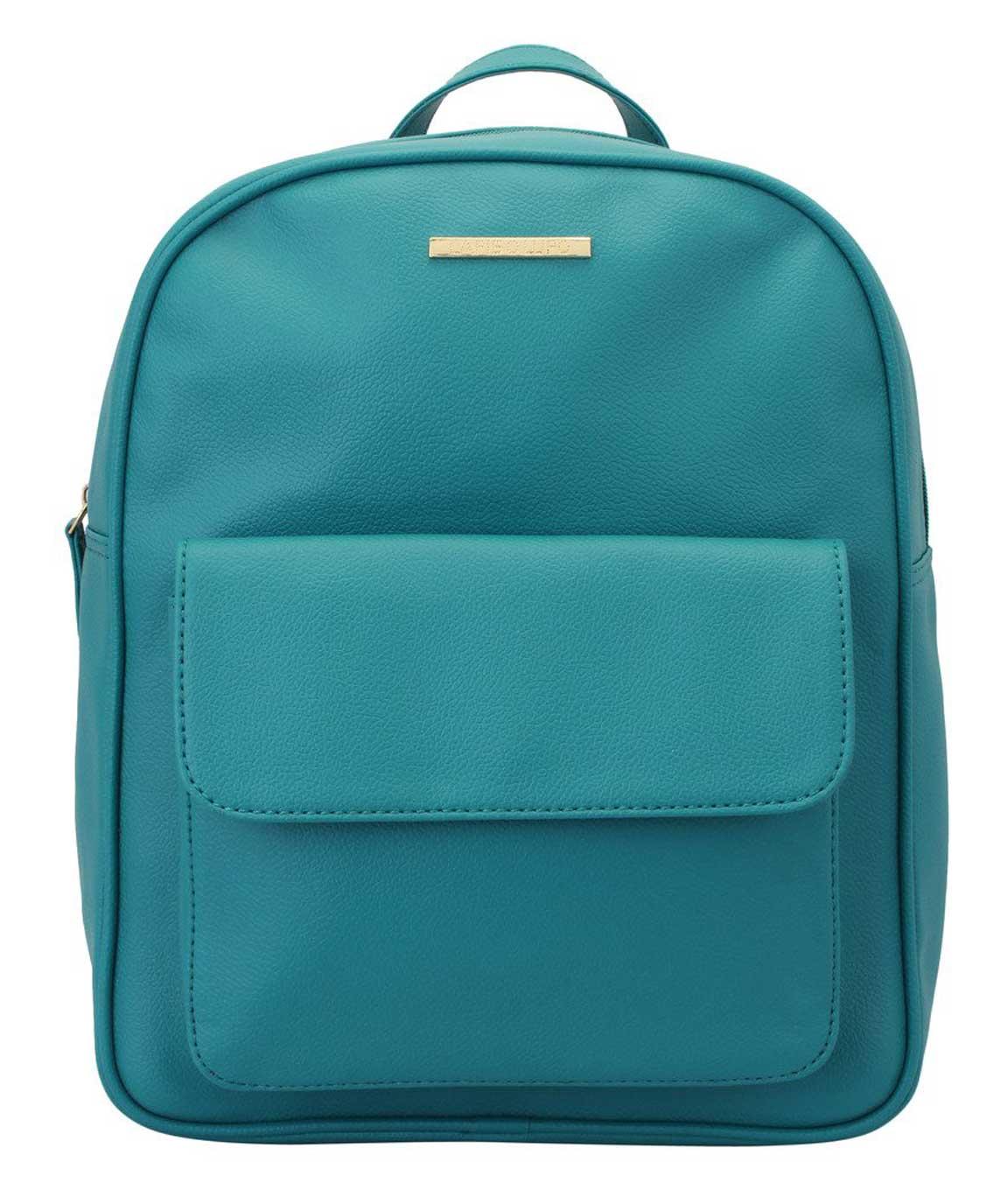 Lapis O Lupo Beryl PU Women`s Backpack(Turquoise)
