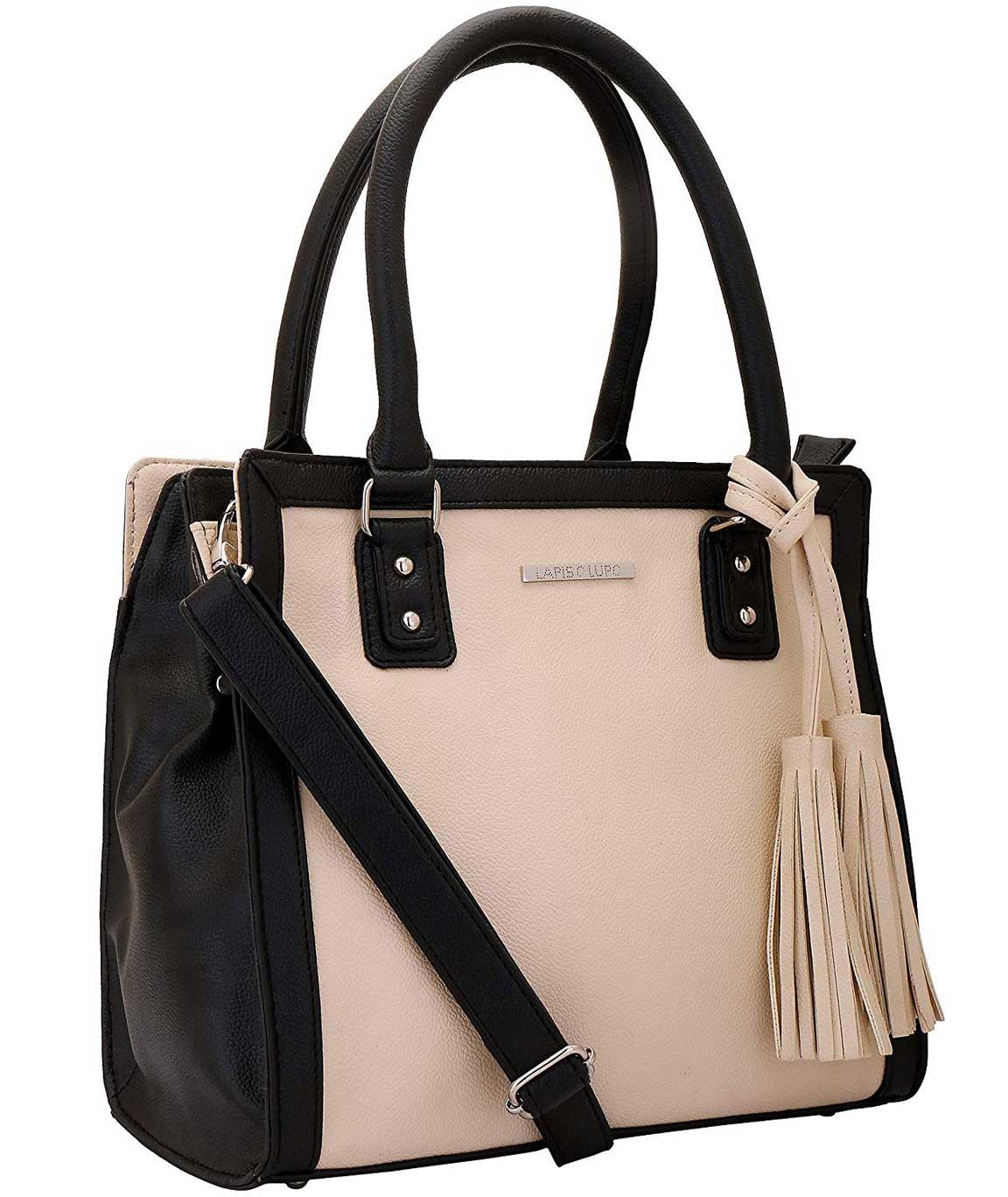Lapis O Lupo Combo Ivory Women Handbag and Sling Bag (Off White,Blue)