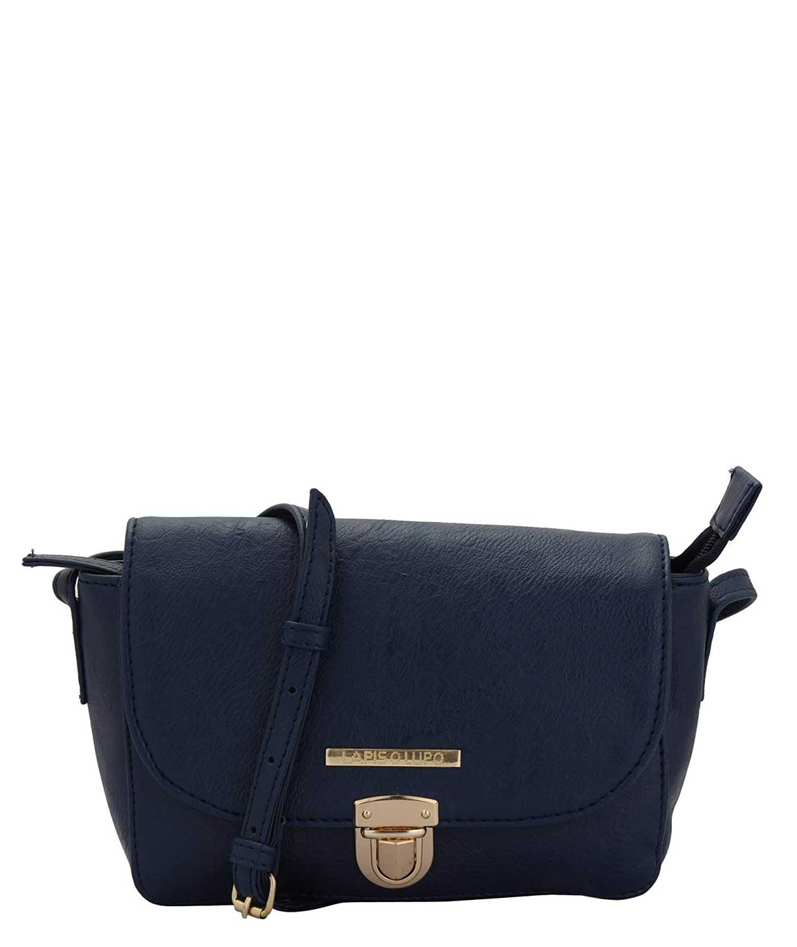 Lapis O Lupo Lewd Women's Sling Bag (Blue)