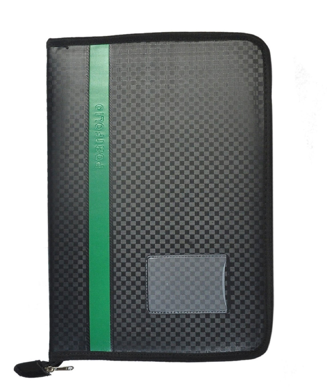 Leather Portfolio Certificate and Documents Holder(green)