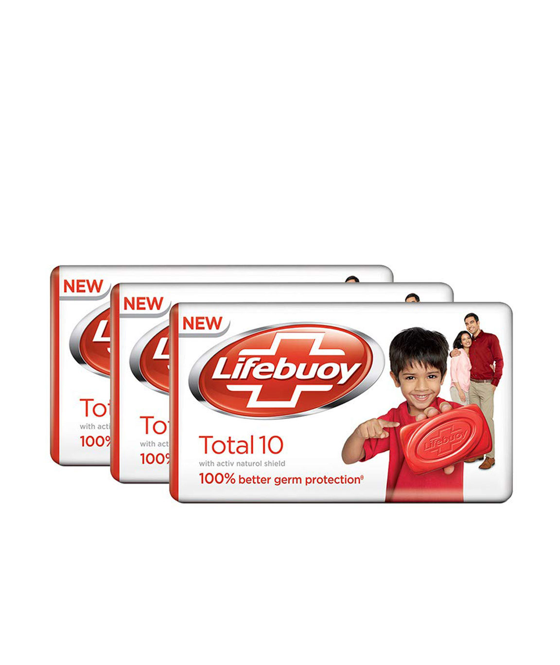 Lifebuoy Total 10 Soap Bar, 3x100gm