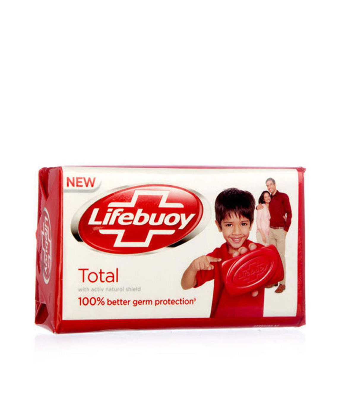 Lifebuoy Total 10 Soap Bar (125 gm) - Pack of 12