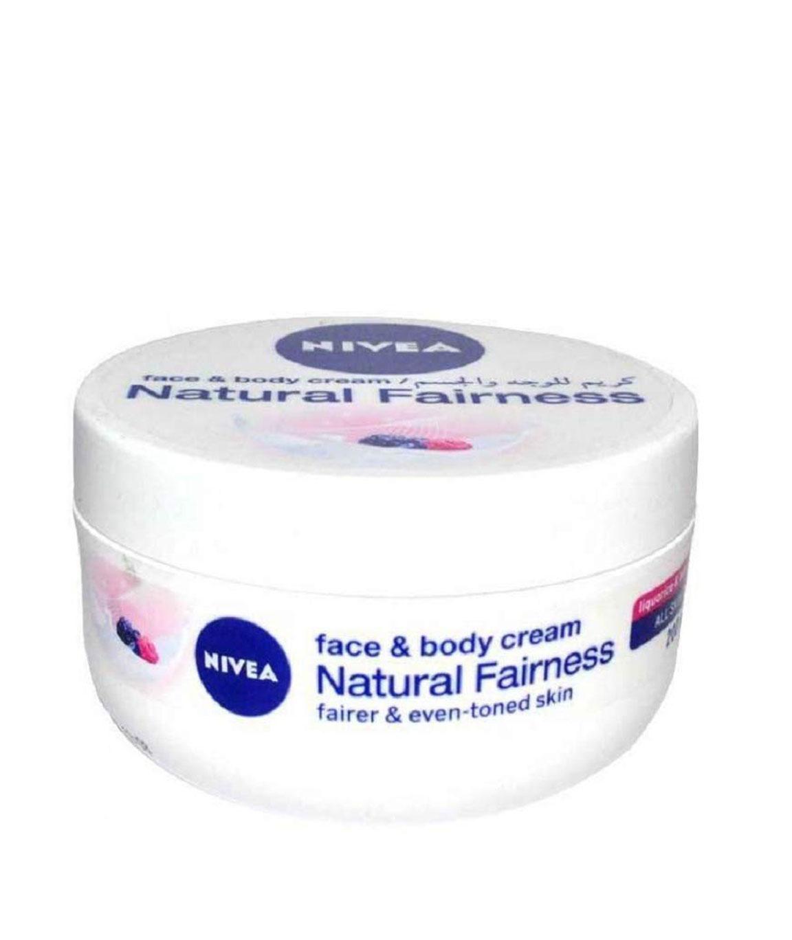 Nivea Natural Fairness Cream - 200ml - All type Skin (Imported) by Nivea