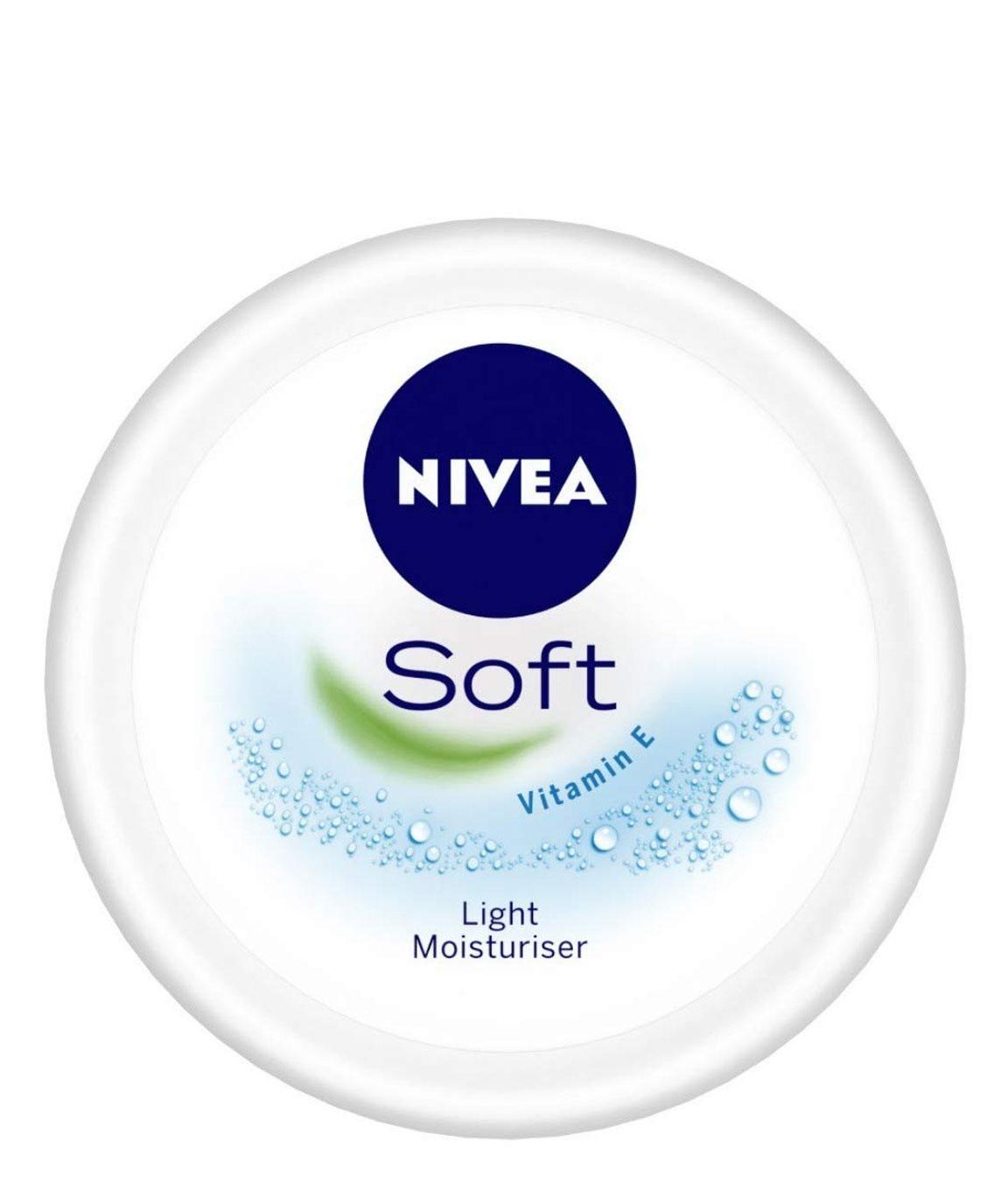 NIVEA Soft, Light Moisturising Cream, 50ml