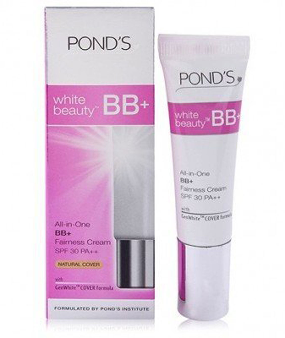 Ponds White Beauty All In One BB+ Fairness Cream Spf 30 Pa++ - 9Gm(Pack Of 2)