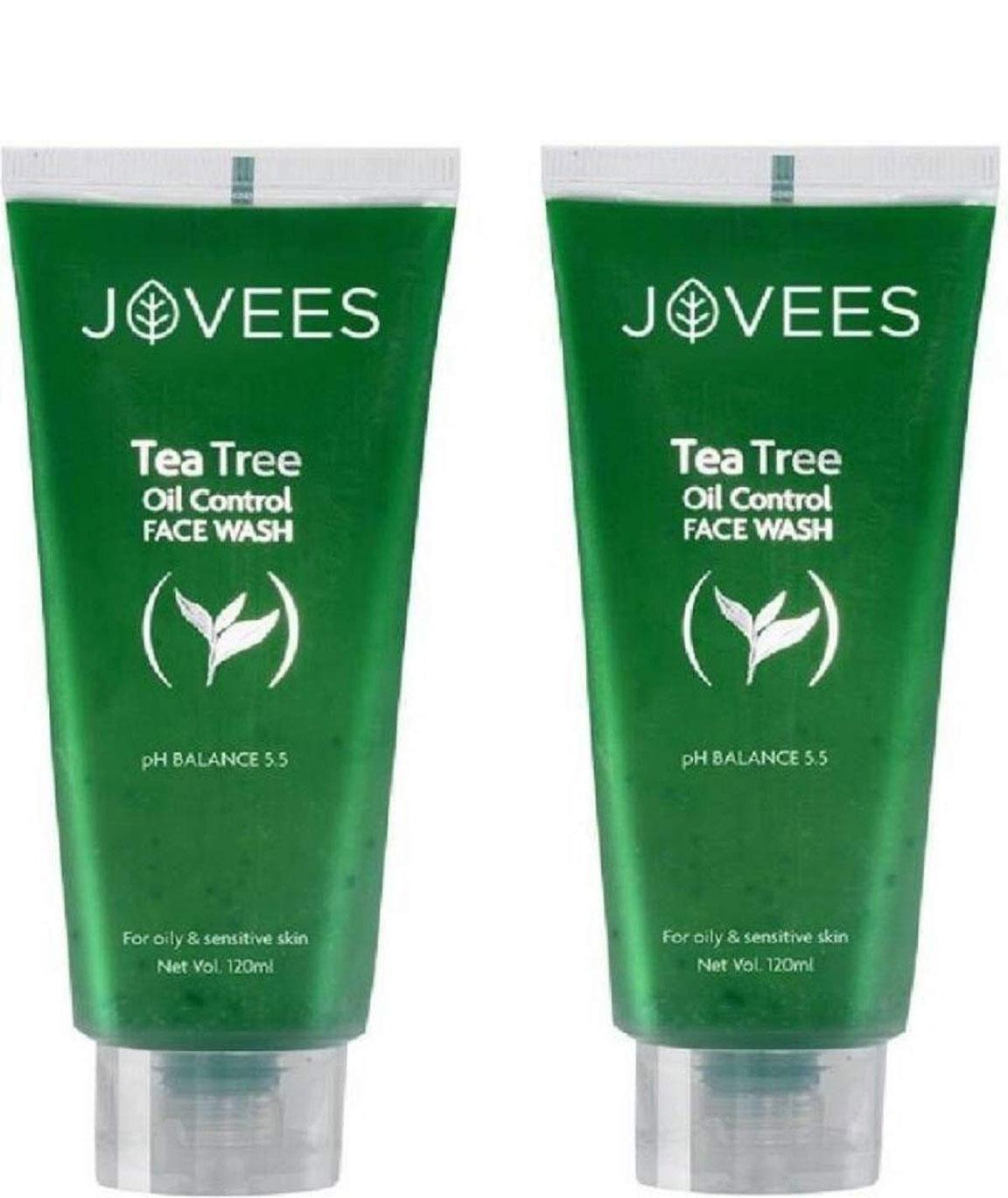 Jovees Tea Tree Oil Control Face Wash (240 ml)