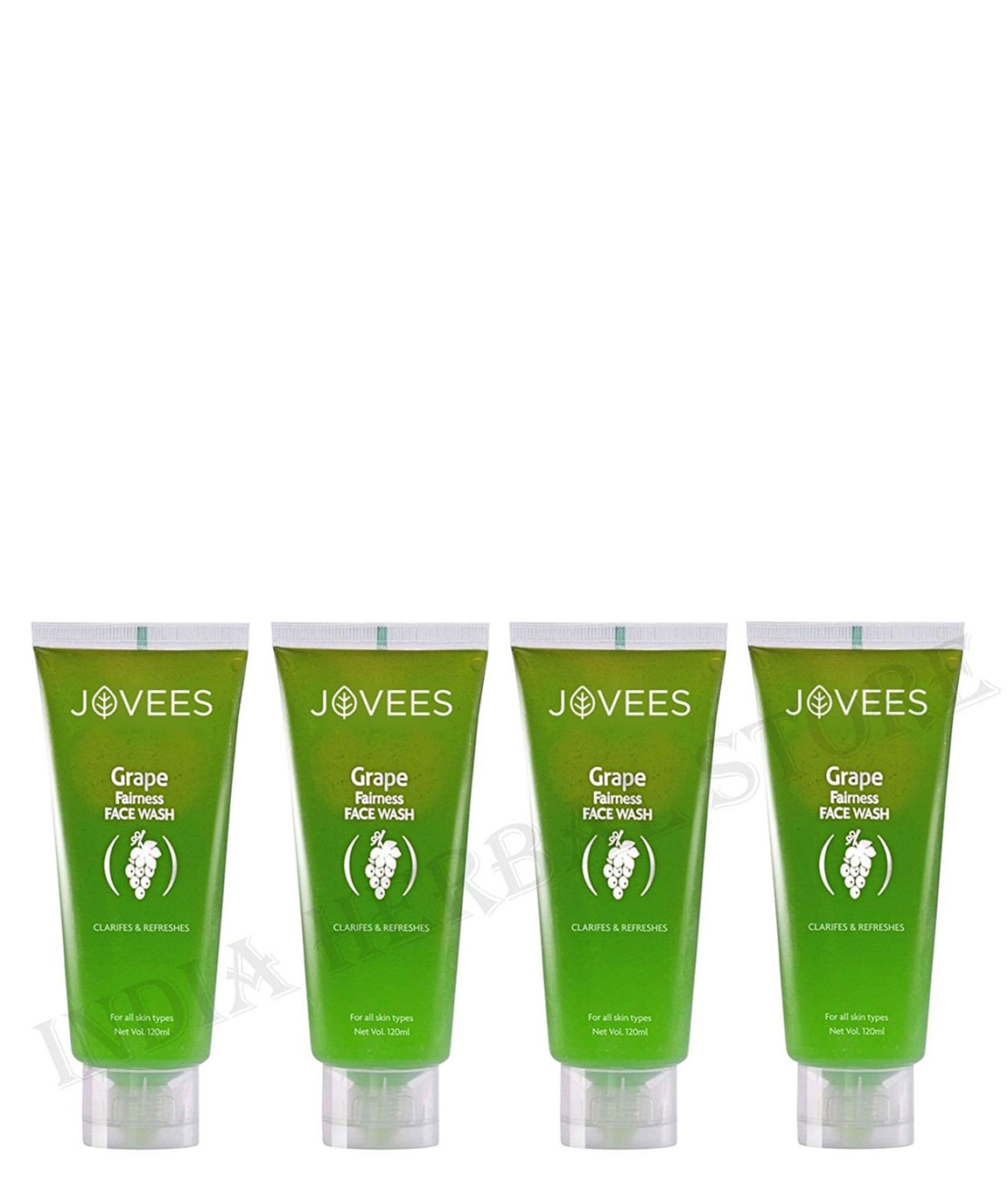 Jovees Herbal Grape Fairness Face Wash It Makes Skin Glow And Visibly Fairer  480 ml