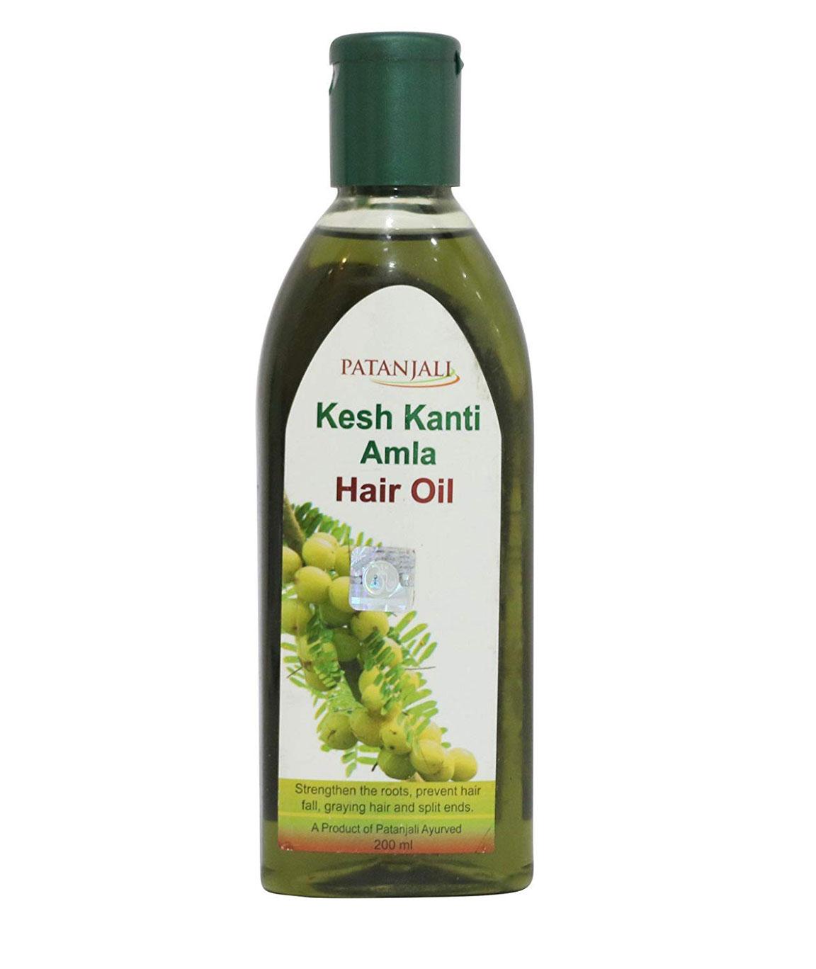Patanjali Kesh Kanti Amla Hair Oil, 200ml