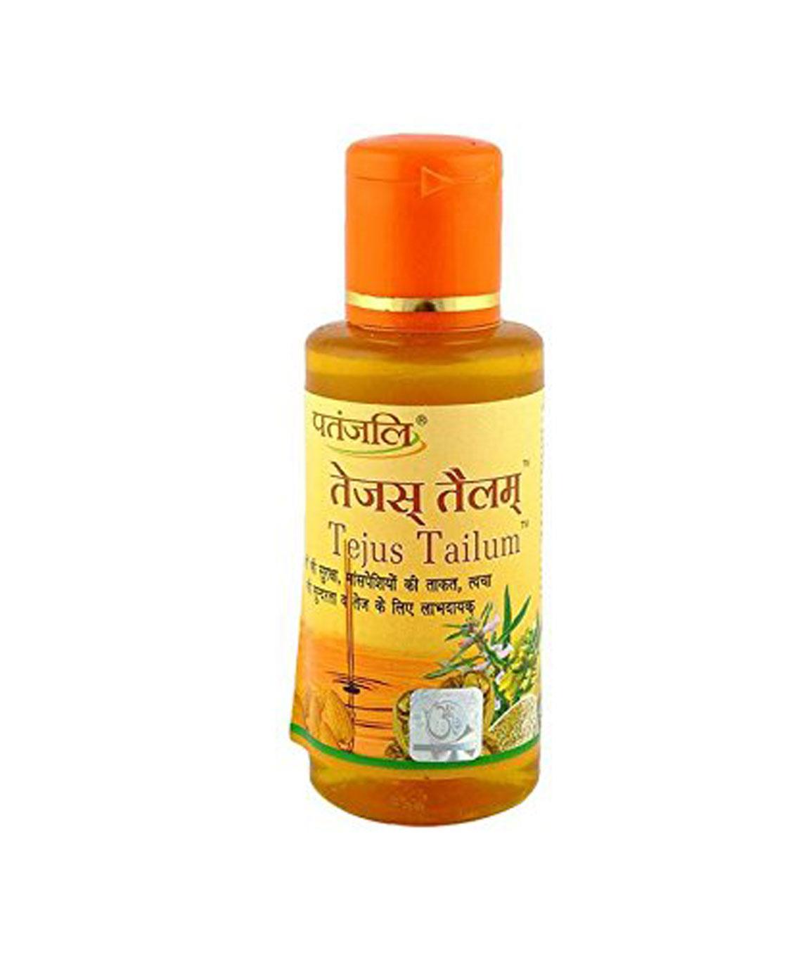 Patanjali Tejus Tailum Hair Oil,100 ml -Pack of 2