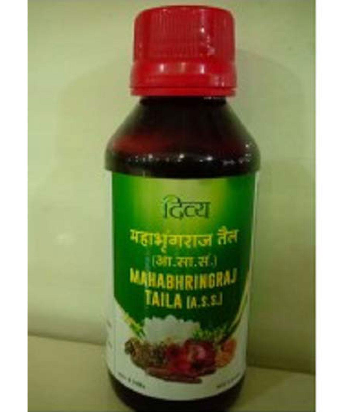 Patanjali Divya Mahabhringraj Hair Oil - Pack of 2 (2 x 100ml)