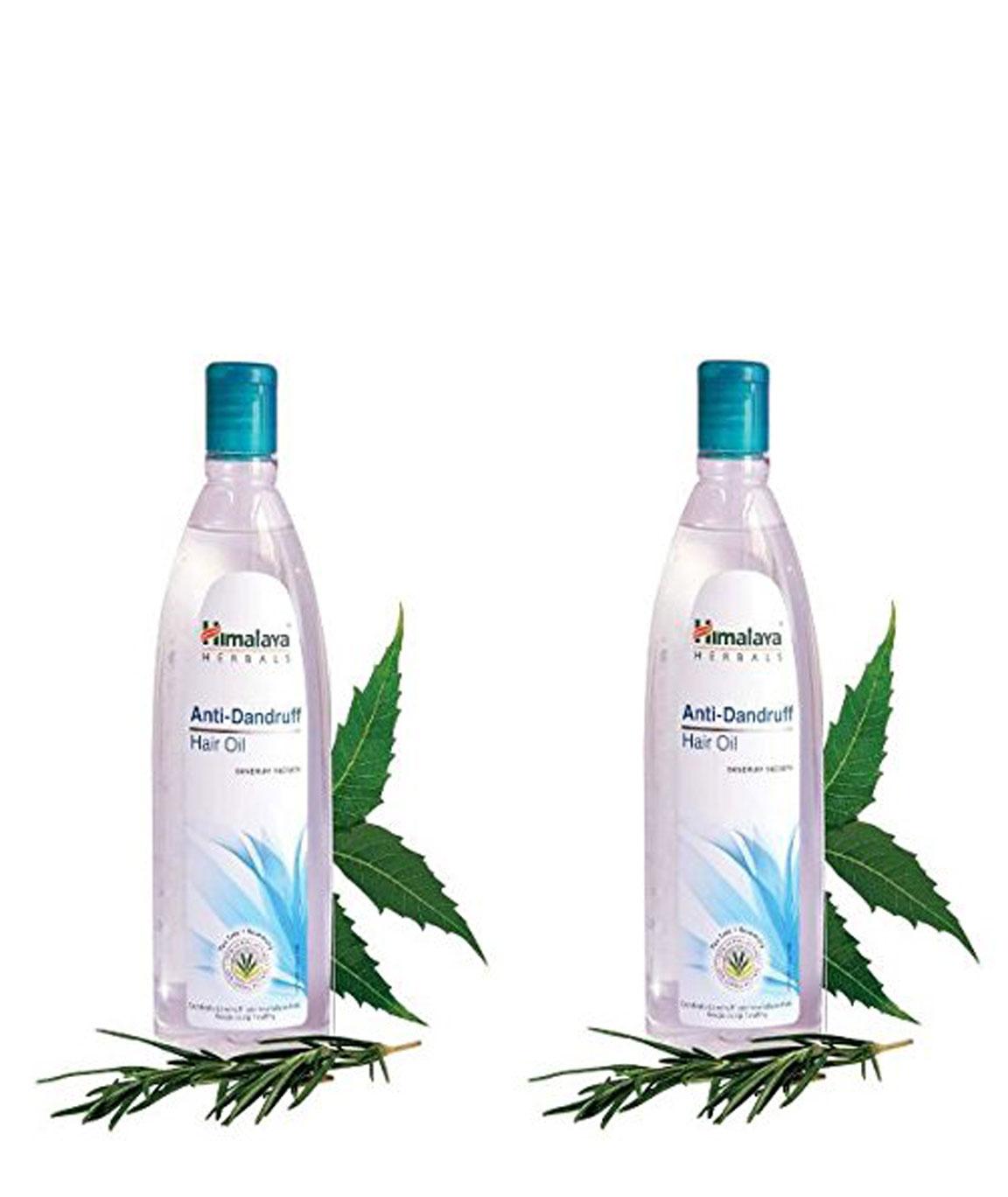 Himalaya Anti-Dandruff Hair Oil - 100ml (Pack of 2)