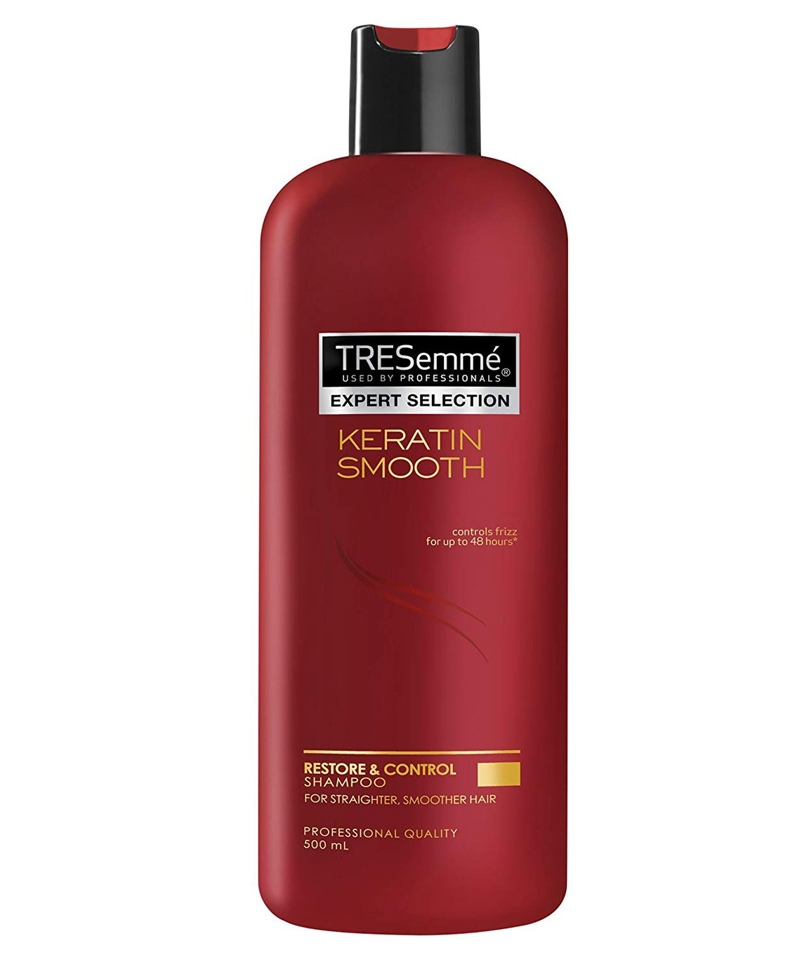 Tresemme Keratin Smooth Shampoo Controls frizz for up to 48 hours 500Ml
