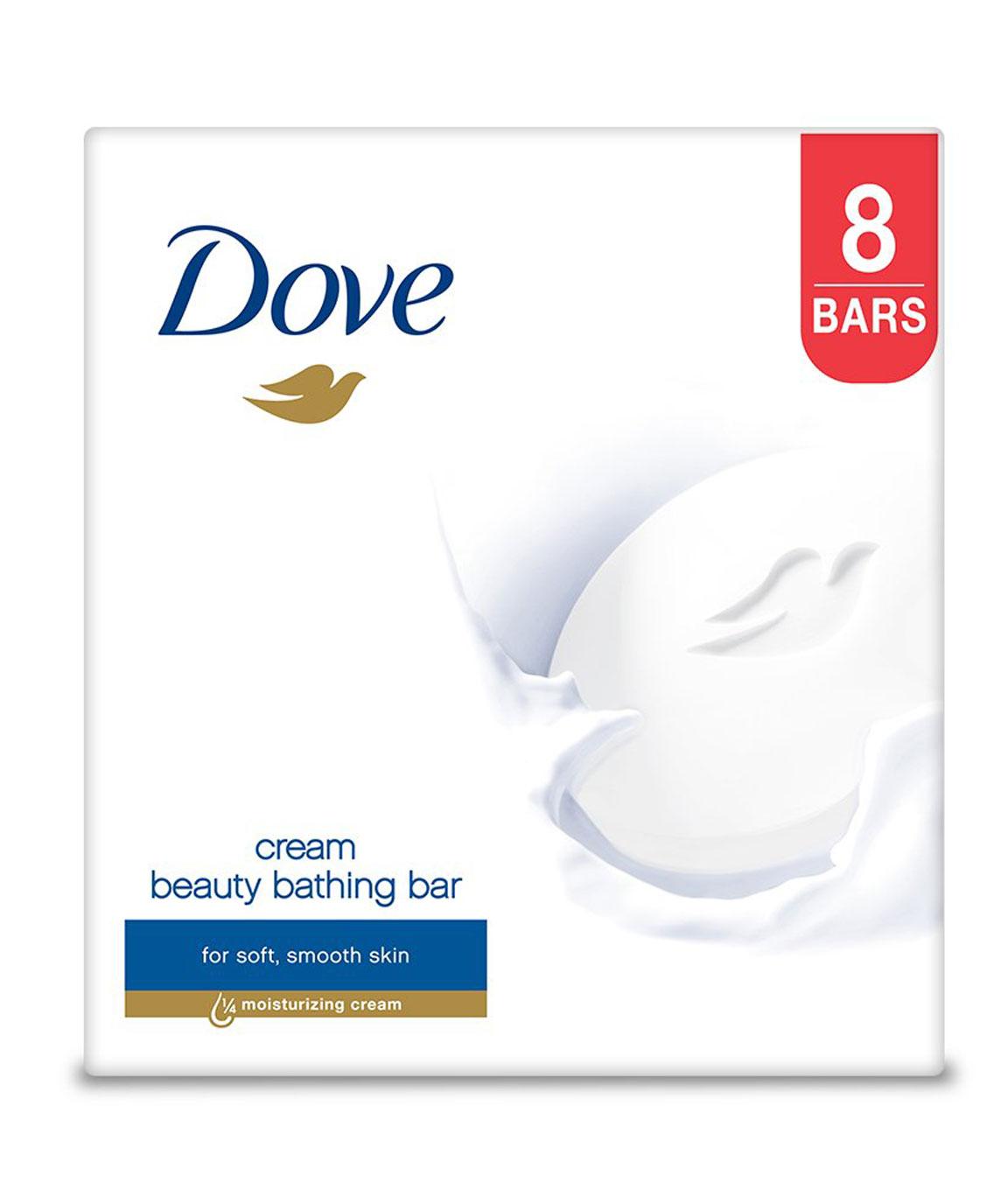 Dove Cream Beauty Bathing Bar 100g (Pack of 8)