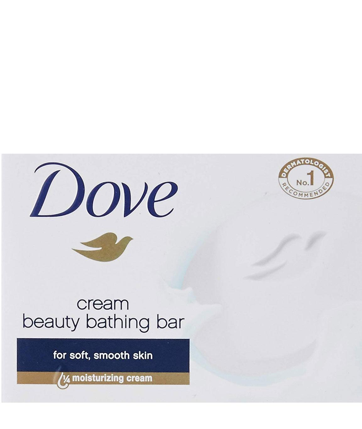 Dove Cream Beauty Bathing Bar 100g (Buy 4 Get 1 Free)