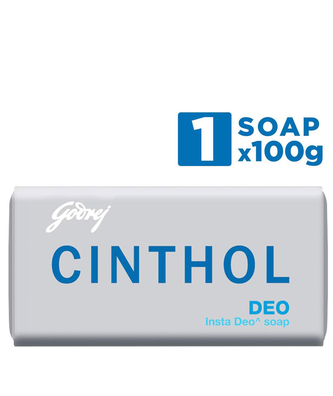 Cinthol Deo Bath Soap, 100g (Pack of 3)