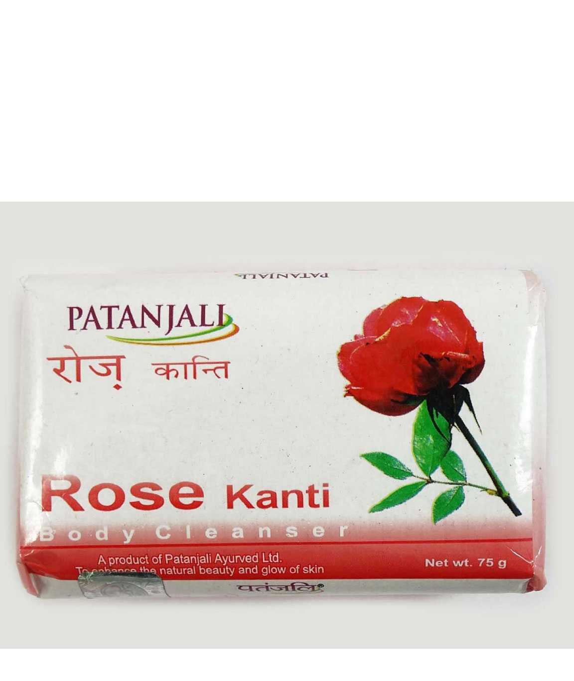 Patanjali Rose Body Cleanser, 75gm