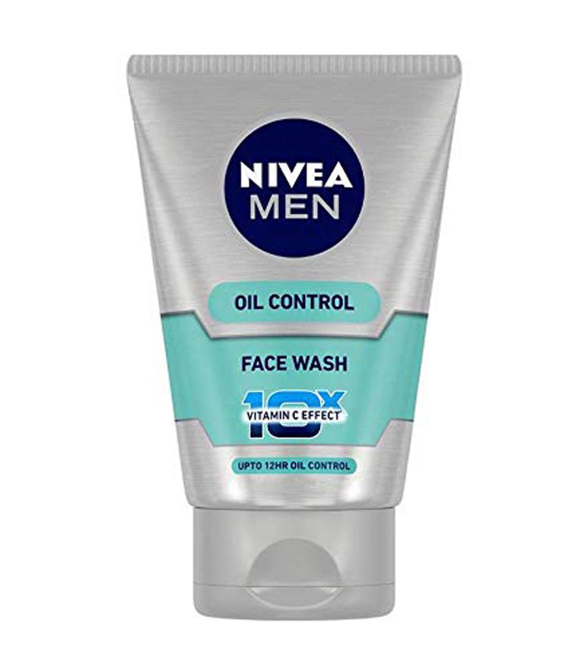Nivea Men Oil Control 10x Whitening Face Wash, 100gm
