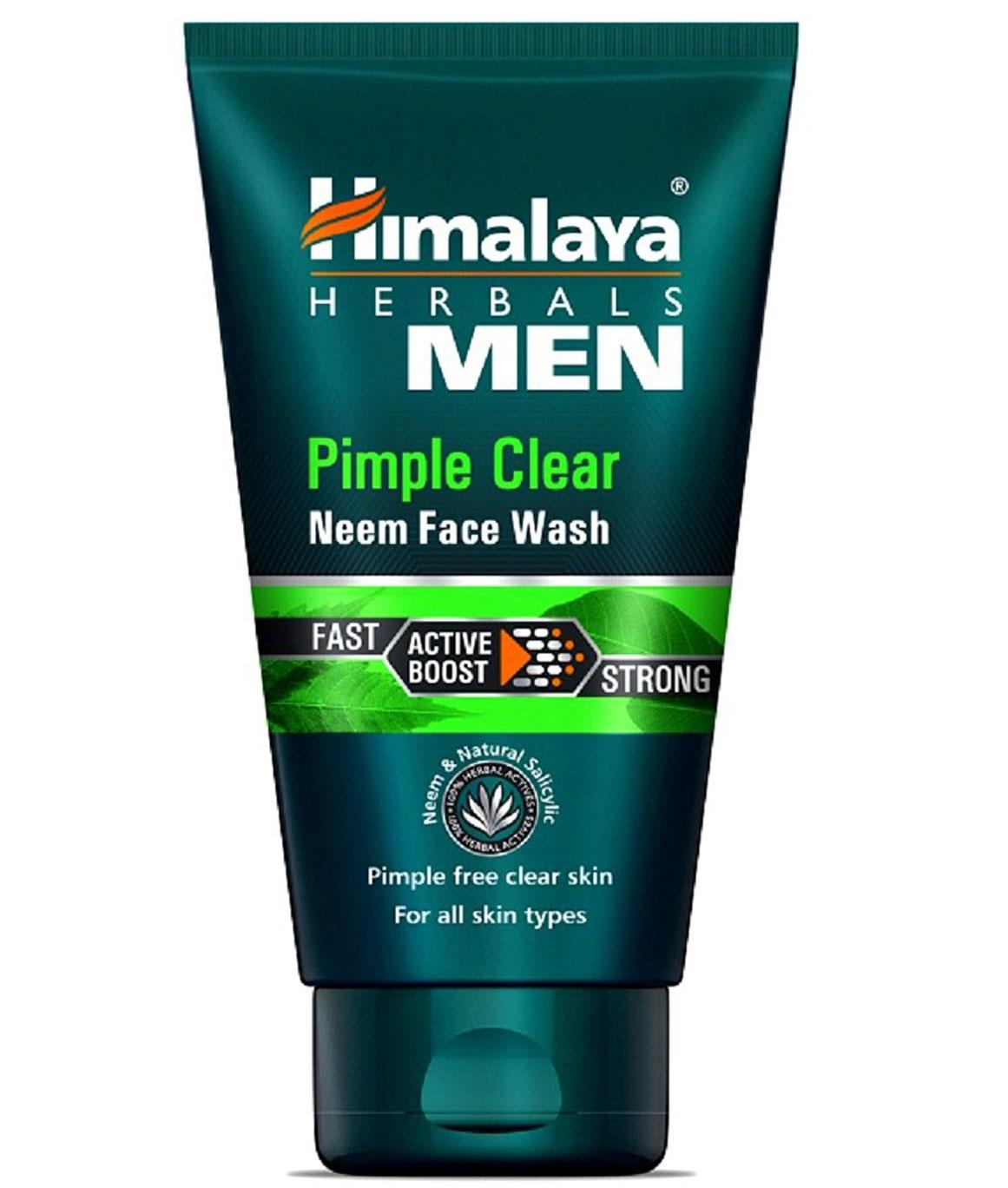 Himalaya Men Pimple Clear Neem Face Wash 50ml