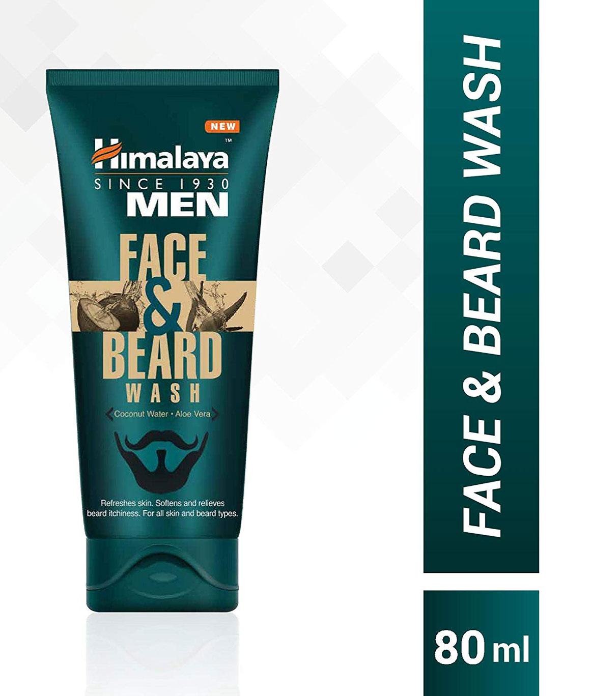 Himalaya Men Face And Beard Wash 80ml