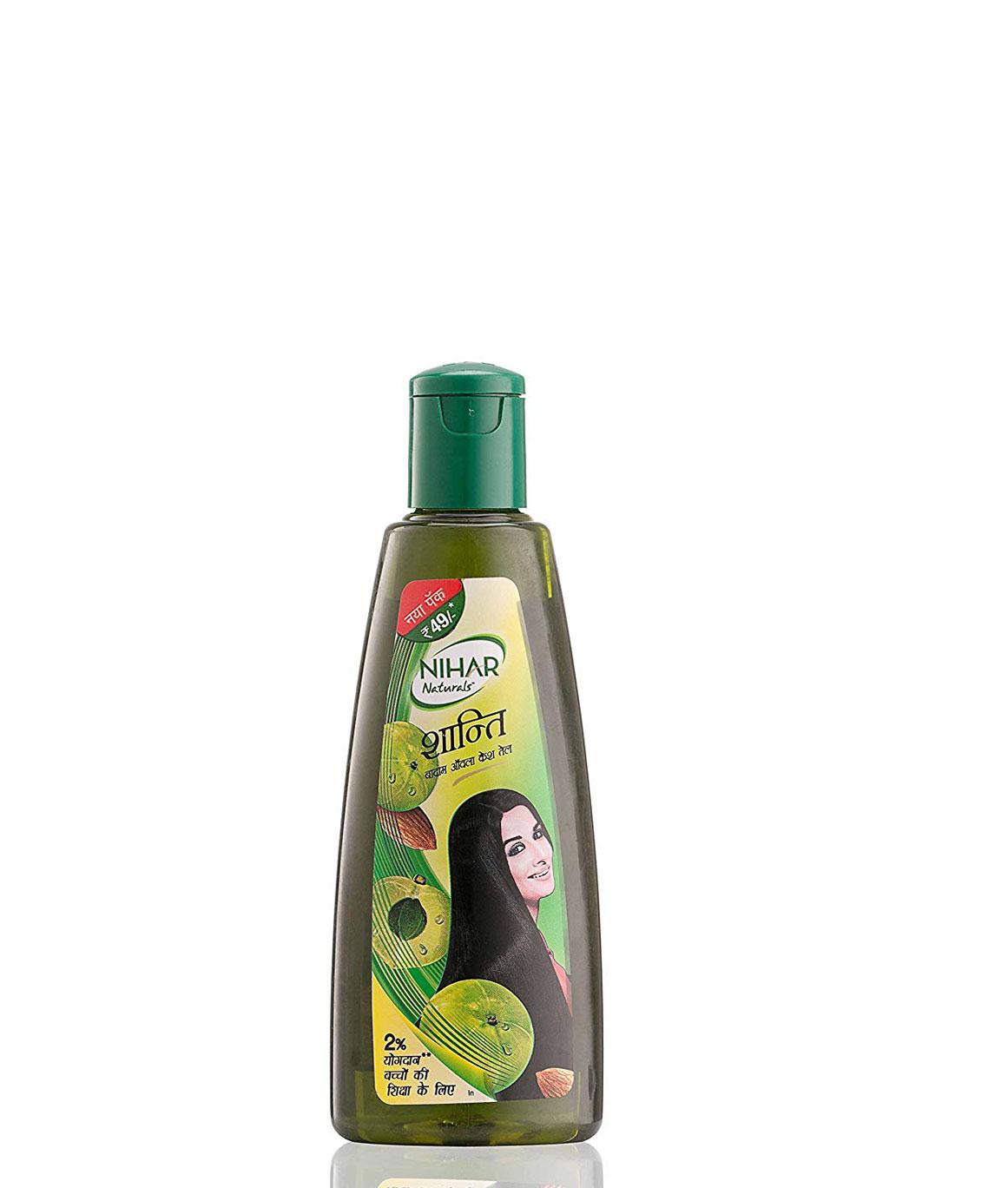 Nihar Naturals Shanti Badam Amla Hair Oil, 175ml