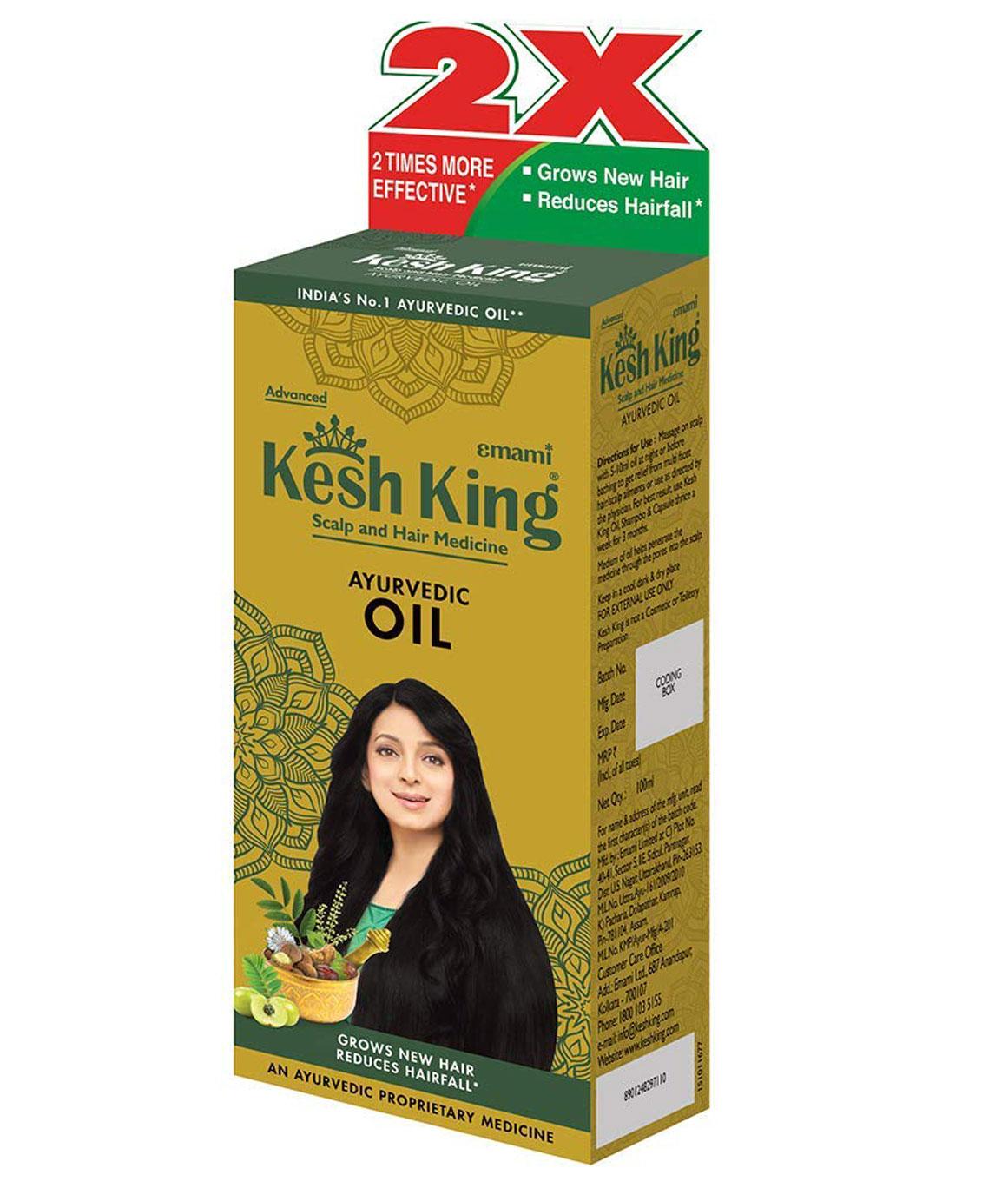 Kesh King Hair Oil - 100ml (20ml FREE)