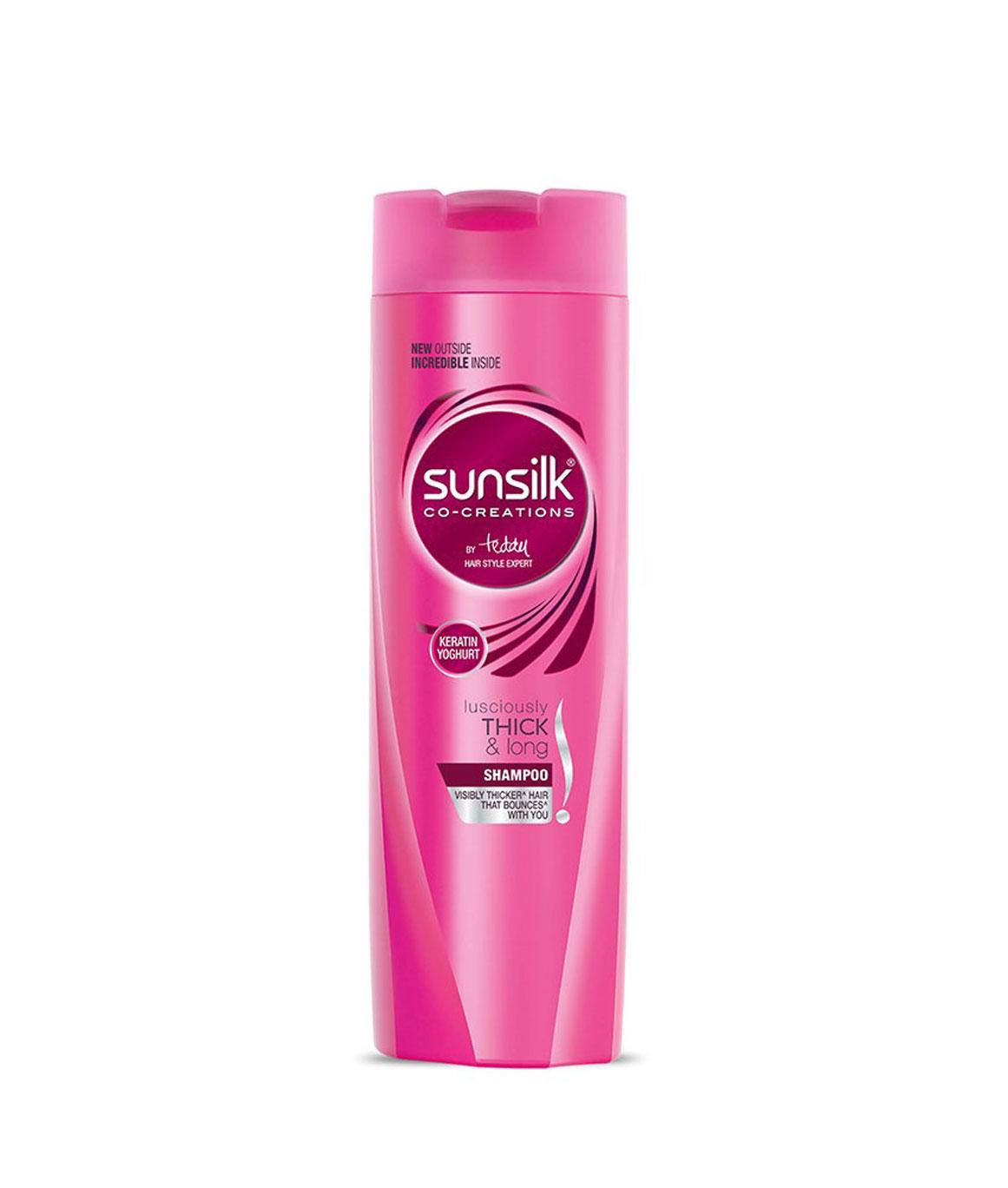 Sunsilk Lusciously Thick and Long Shampoo, 180ml
