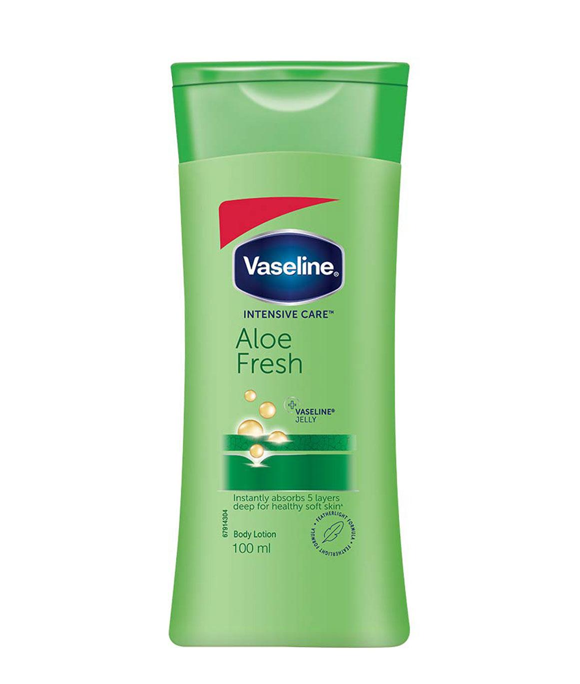 Vaseline Intensive Care Aloe Fresh Body Lotion, 100 ml