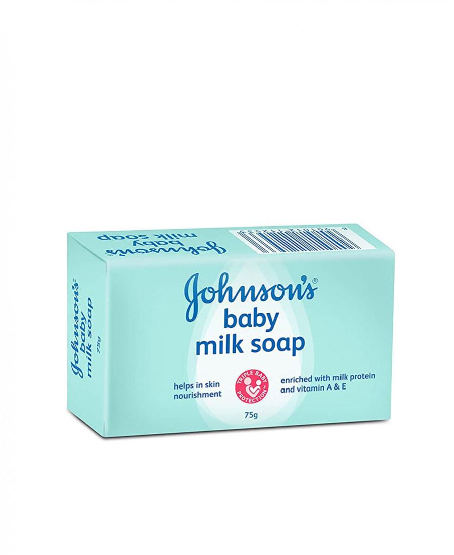 JOHNSONS BABY MILK SOAP 75GM
