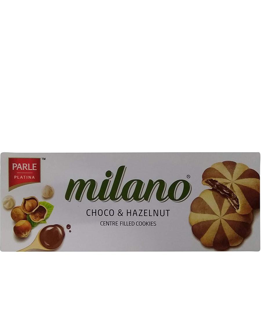 MILANO CHOCO&HAZELNUT COOKIES 60GM