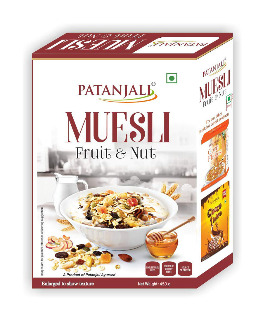 PAT MUESLI FRUIT&NUT 450GM 450 GM