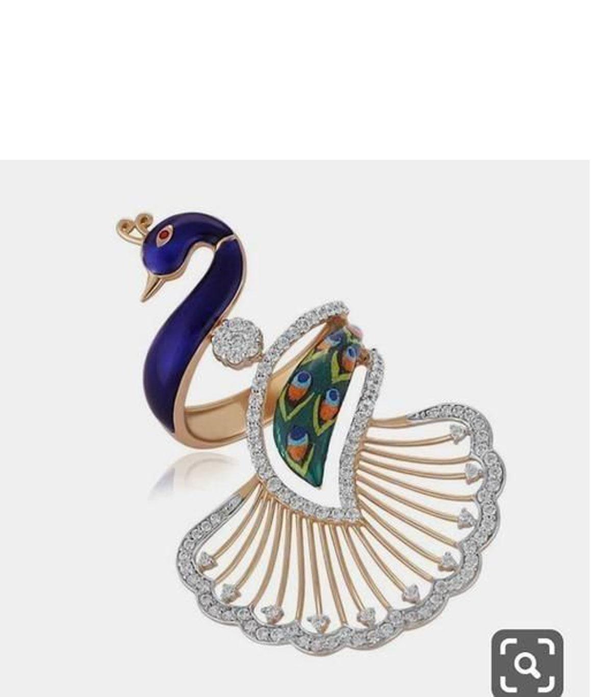 Trendy Designer Alloy Ring