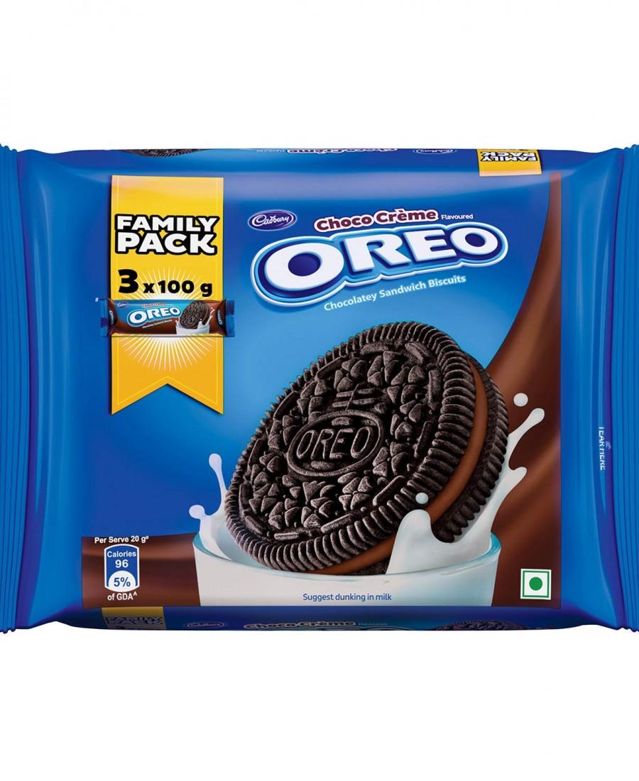 Cadbury Oreo Choco Creme Biscuit Family Pack 300g