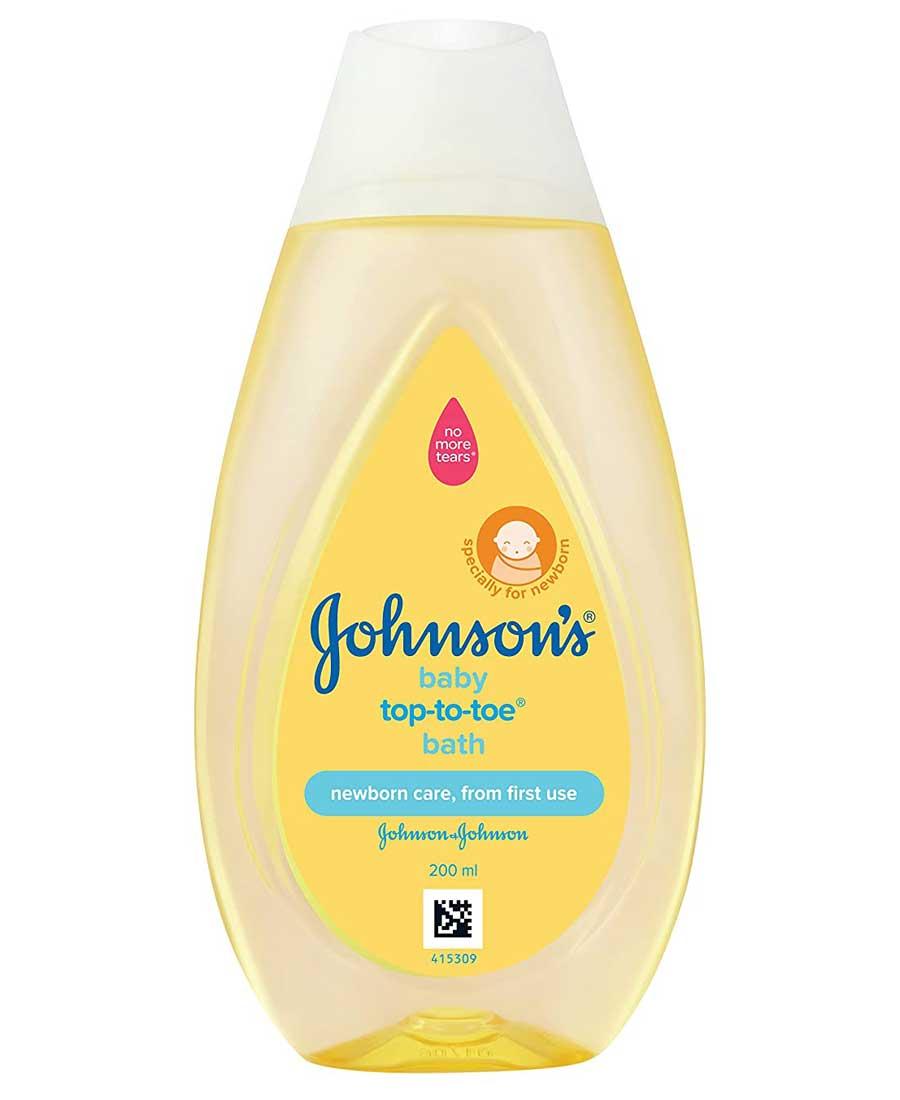 Johnsons Baby Top to Toe Baby Bath