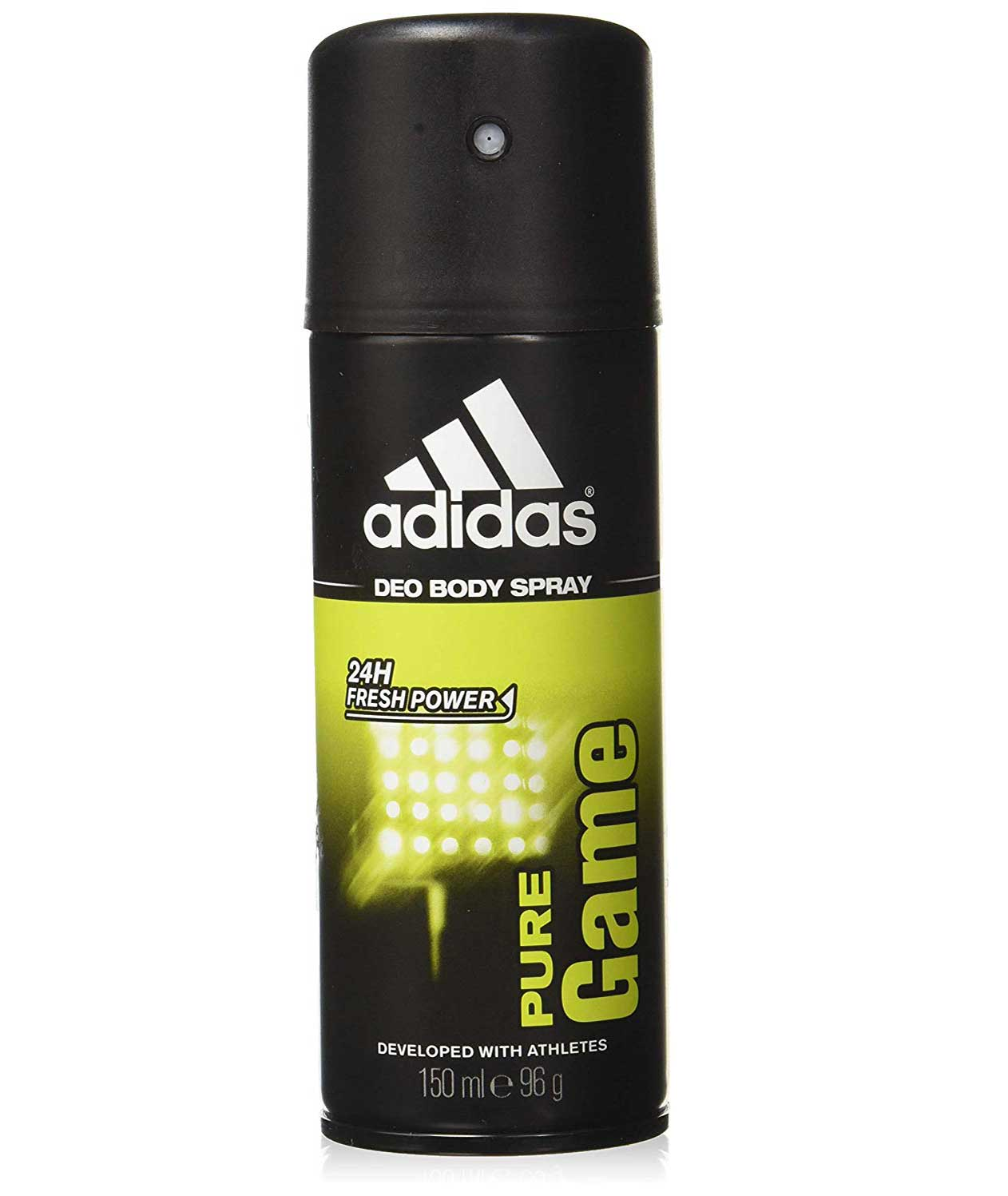 Adidas Pure Game Deodorant Body Spray for Men Combo (Pack of 2), 150ml