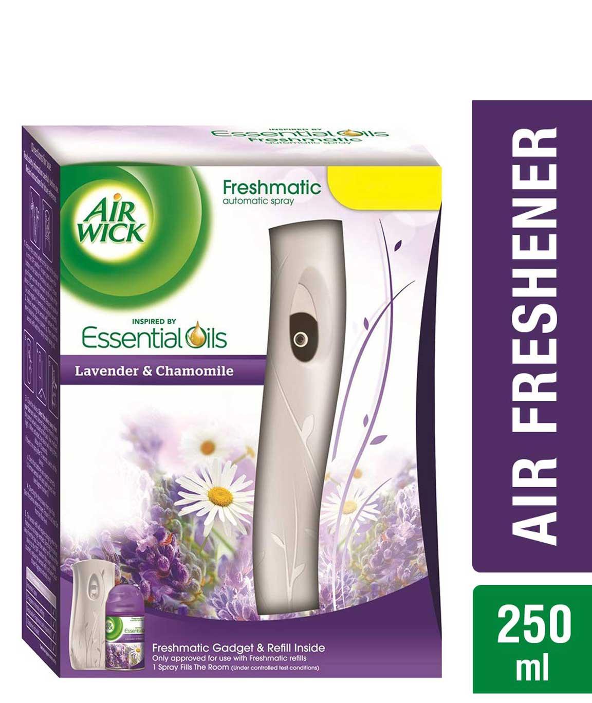 Airwick Freshmatic Complete Kit - Automatic Air Freshener - Lavender & Chamomile (250 ml)