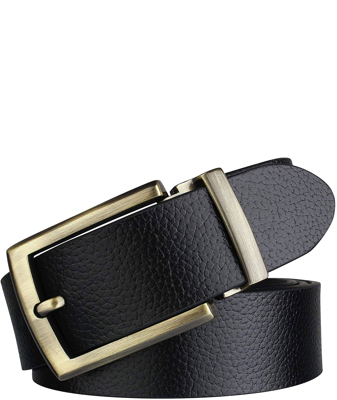 Alfami formal/casual black genuine leather belts for mens- 1 year guarantee Gift for gents BKLC-05