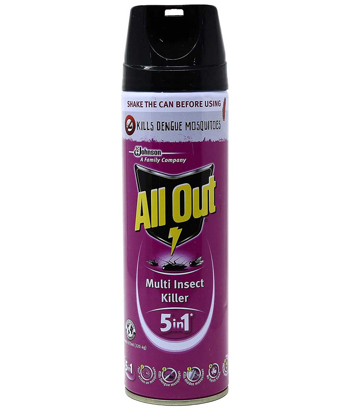 All Out Baygon Multi Insect Killer - 425 ml