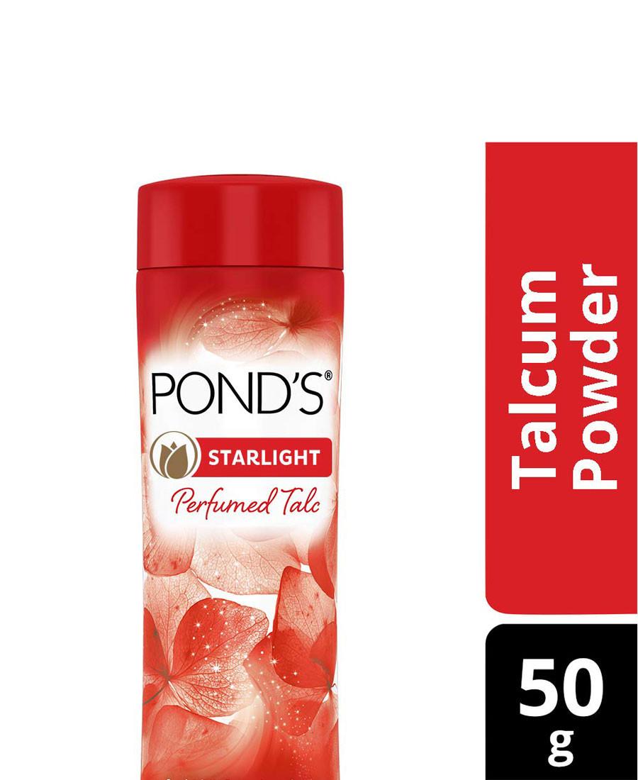 PONDS STARLT TALC 50G