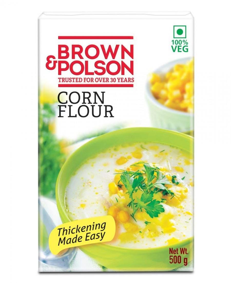 BROWN & POLSON CRNFLR 500Gm C RL