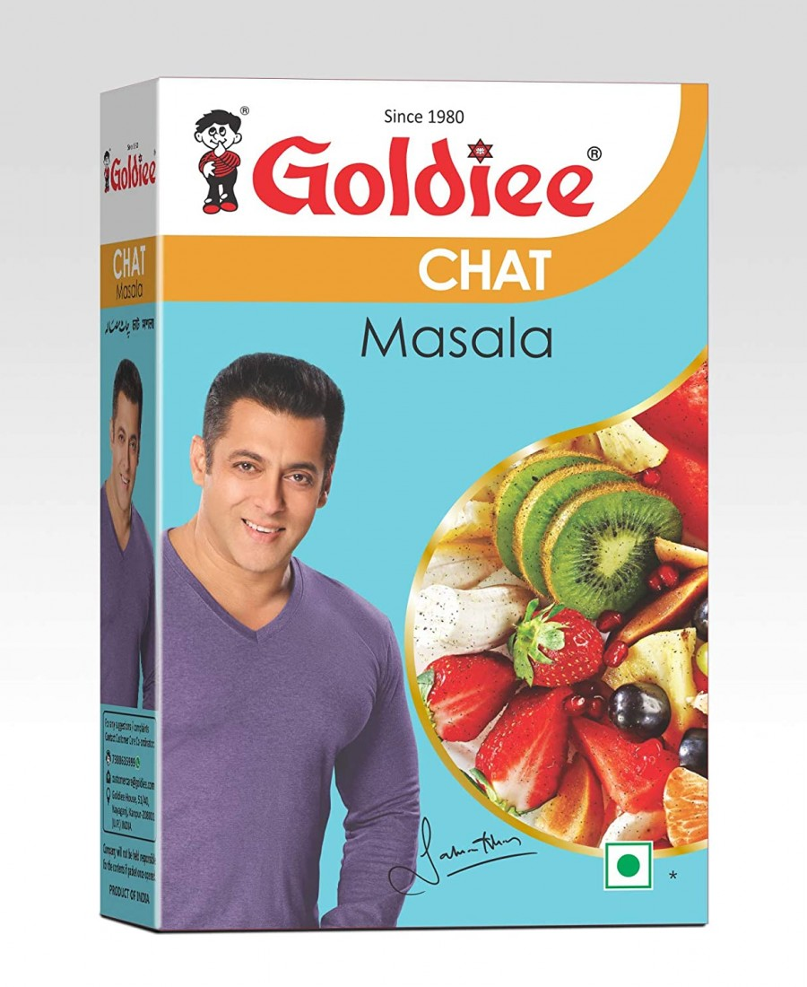 GOLDIEE CHAT MASALA 100GM (1*10)