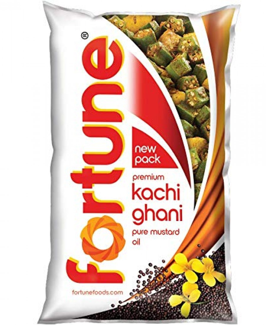 FORTUNE MUSTERED OIL (POUCH) 1 LTR