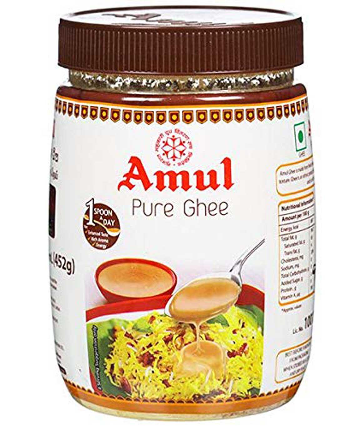 Amul Brown Ghee (Cow Ghee) 500 Gm.