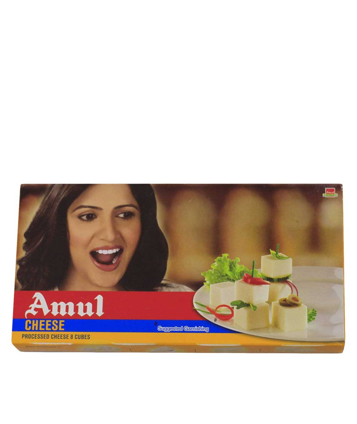 Amul Cheese - Cubes, 200g Pack