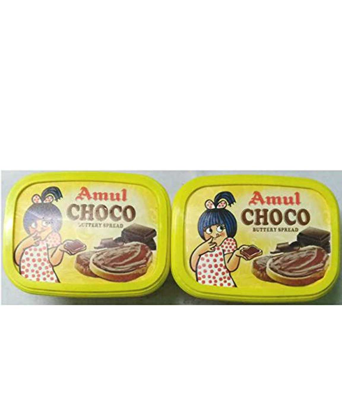 AMUL Choco Buttery Spread 200 GM (Pack of 2)