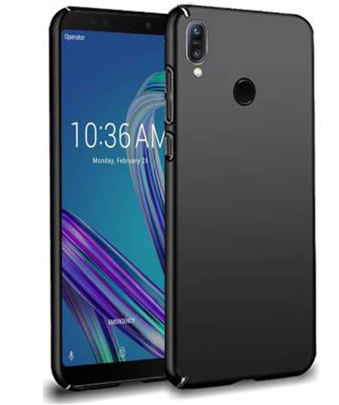 BACK COVER FOR ASUS ZENFONE MAX PRO M1 (BLACK)