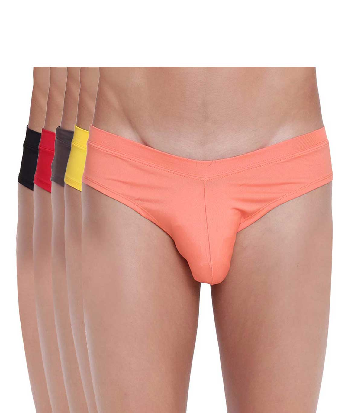 BASIICS Fanboy Style Brief by La Intimo (Pack of 5)