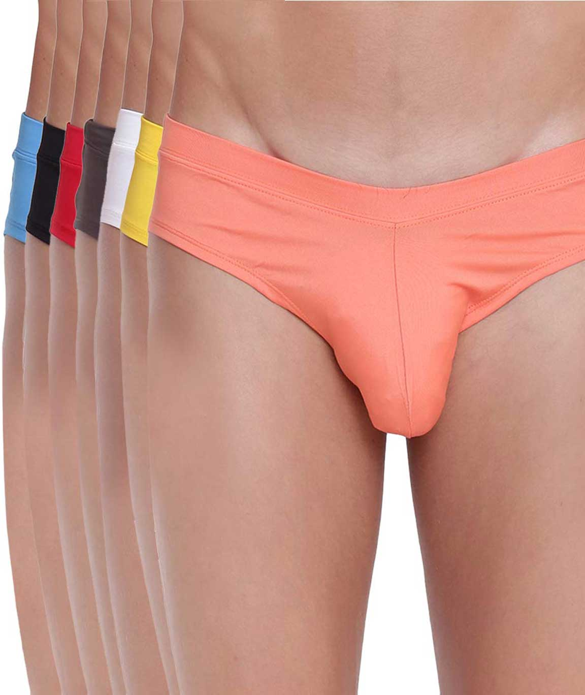 BASIICS Fanboy Style Brief by La Intimo (Pack of 7)