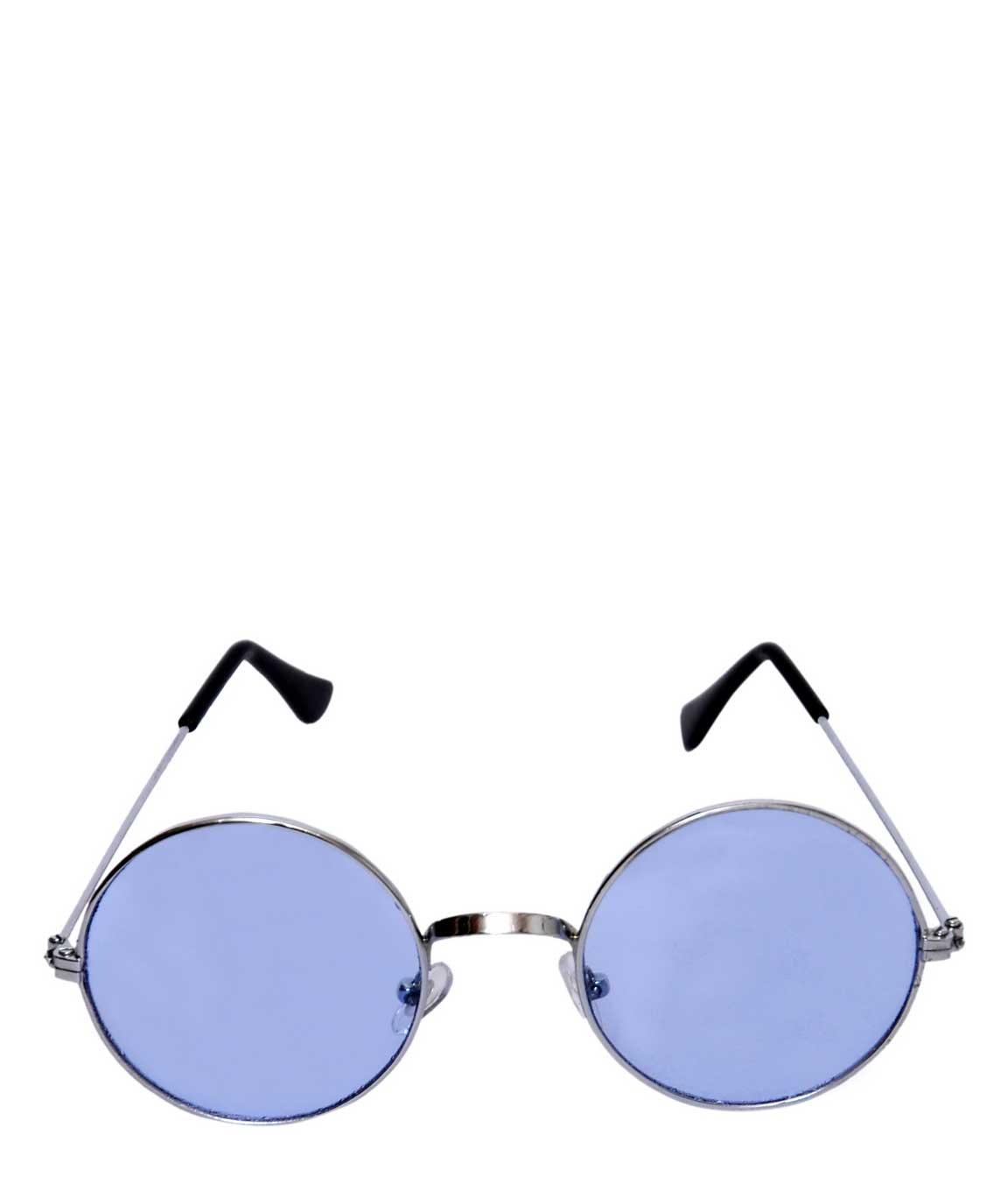 BLUE ROUND GLASSES1